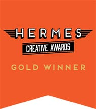 Hermes Creative Award Gold Winner